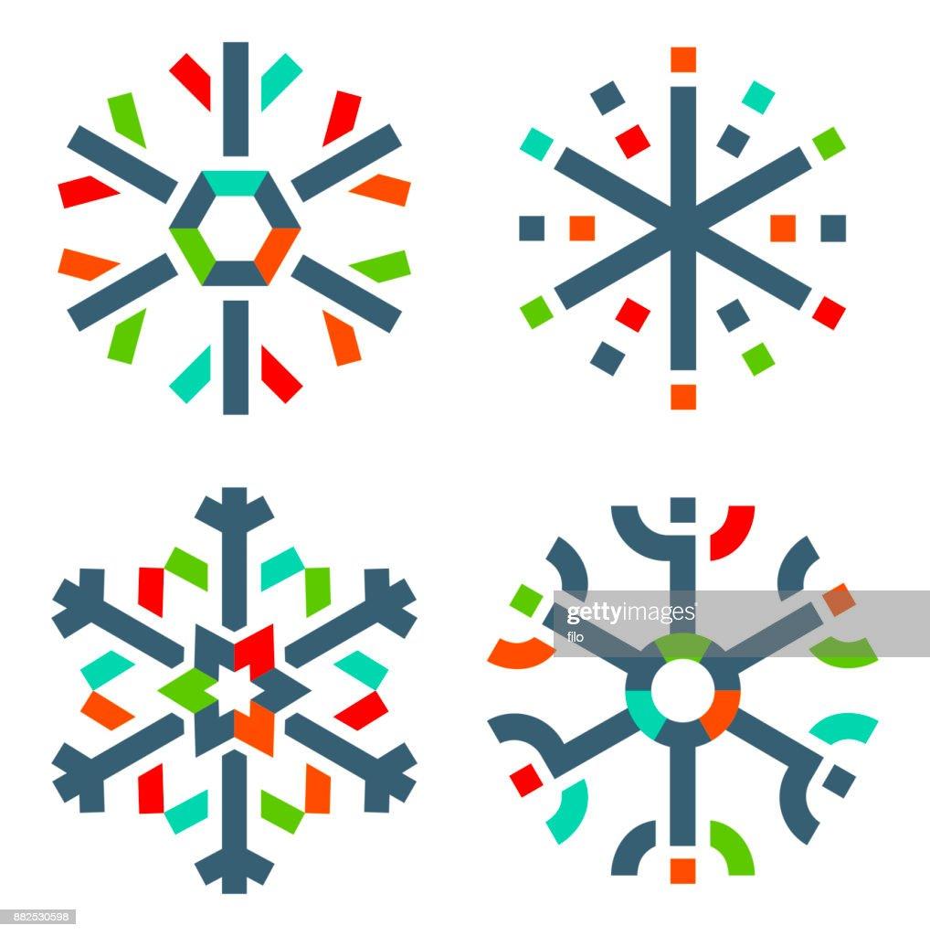 modern snowflakes vector art getty images rh gettyimages com snowflakes vector art snowflakes vector art