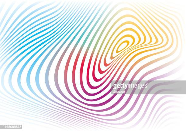 modern soft colours waves abstract background - stretched image stock illustrations, clip art, cartoons, & icons