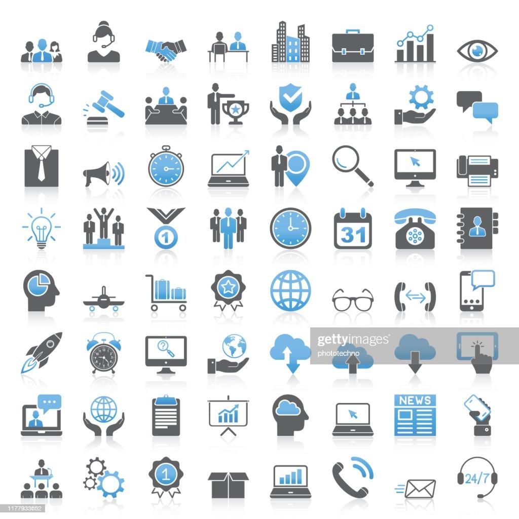 Collezione Universal Business Icons moderna : Illustrazione stock
