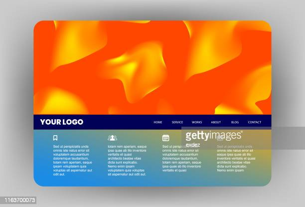 60 Top Website Template Pictures, Photos and Images - Getty