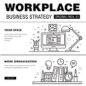 Modern workplace business strategy.