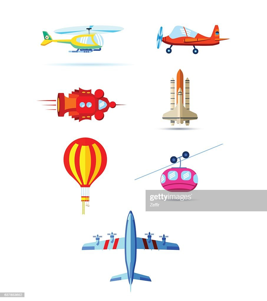modes of air transportation
