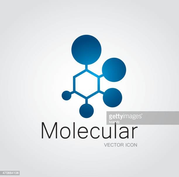 molecular symbol - atom stock illustrations