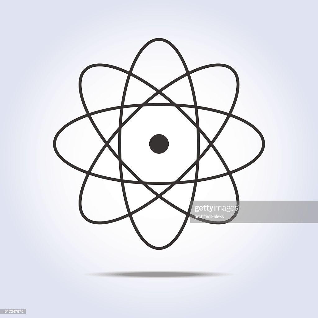 Molecule Icon. Vector illustration