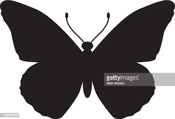 Monarch Butterfly Silhouette