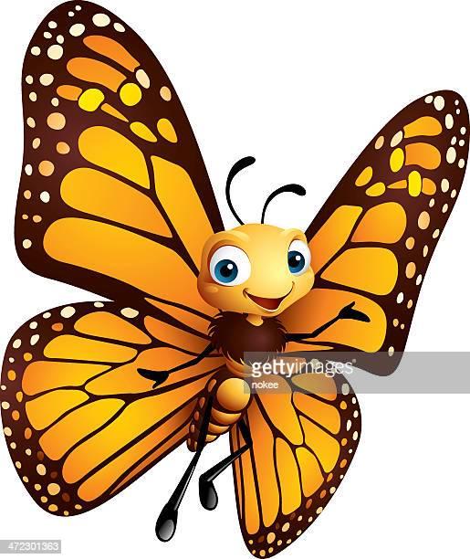 ilustrações, clipart, desenhos animados e ícones de borboleta-monarca - borboleta