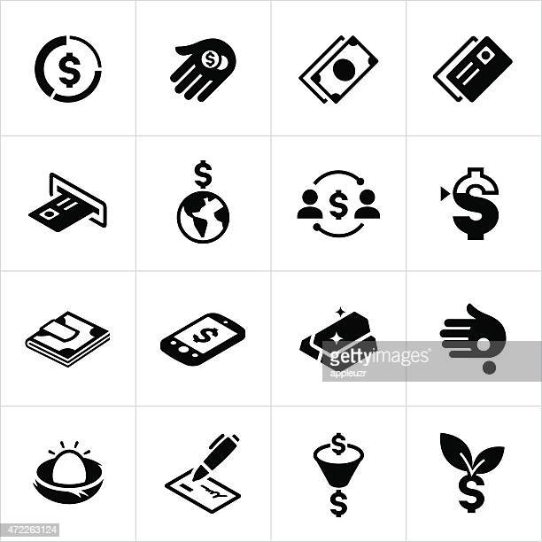 US Money and Currency Icons