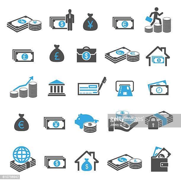 ilustrações, clipart, desenhos animados e ícones de money and finance - arranjar