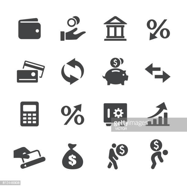 Money and Loan Icons - Acme Series