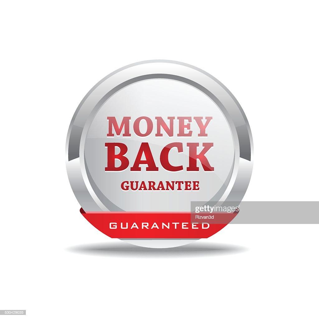 Money Back Guarantee Button