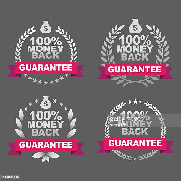 Money Back Guarantee Emblem Set