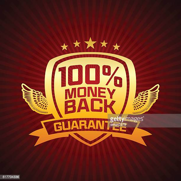 Money Back Guarantee Emblem