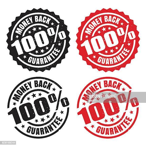 Money Back Guarantee, grunge stamp