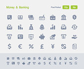 Money & Banking Icons - Granite Icons
