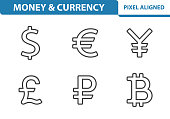 Money & Currency Icons