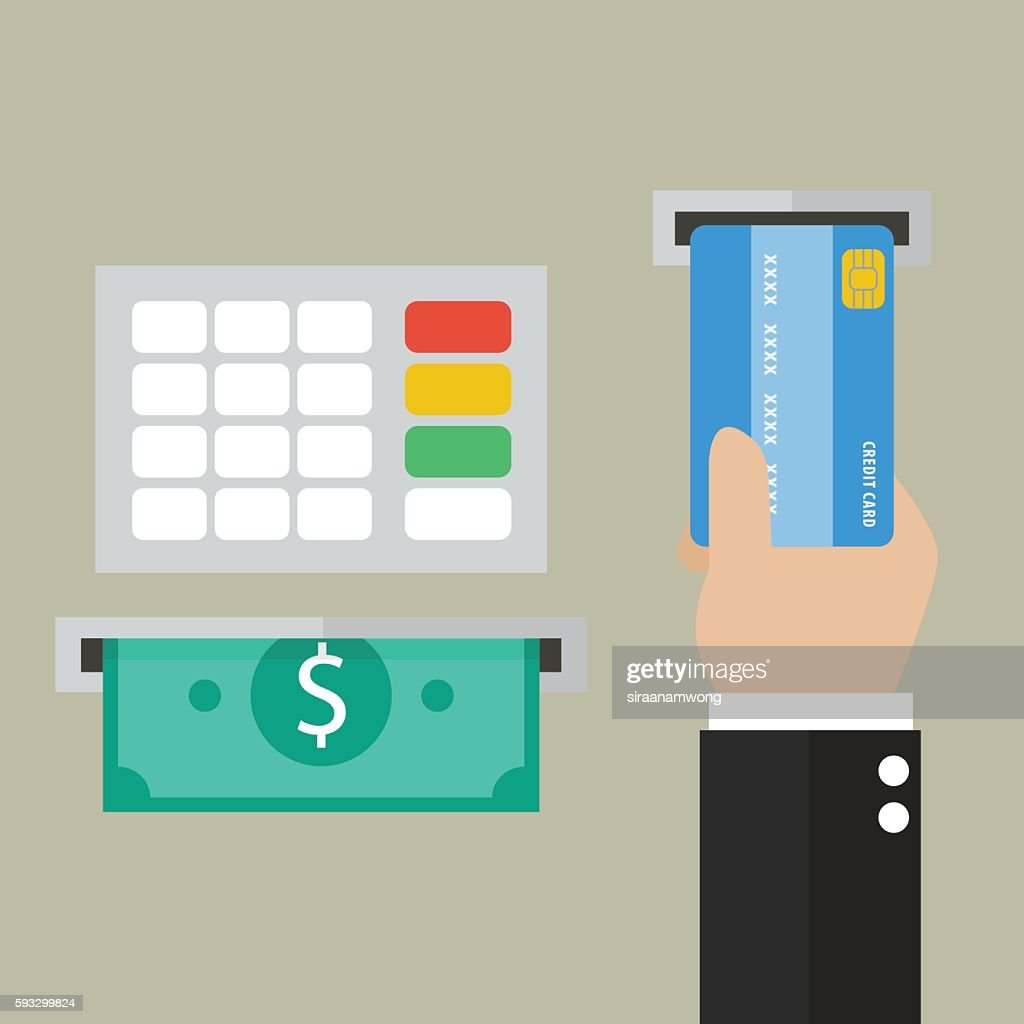 Money deposit and withdrawal