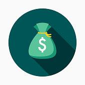 Money Flat Design E-Commerce Icon