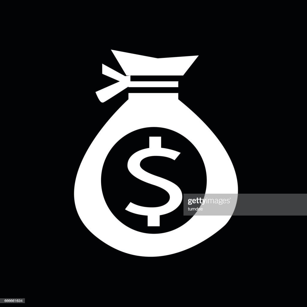 Money icon , coin icon illustration design
