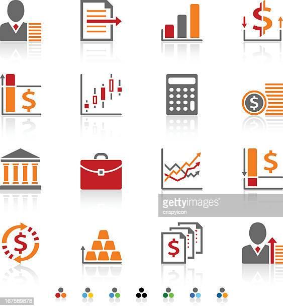お金のアイコン - 金融政策点のイラスト素材/クリップアート素材/マンガ素材/アイコン素材