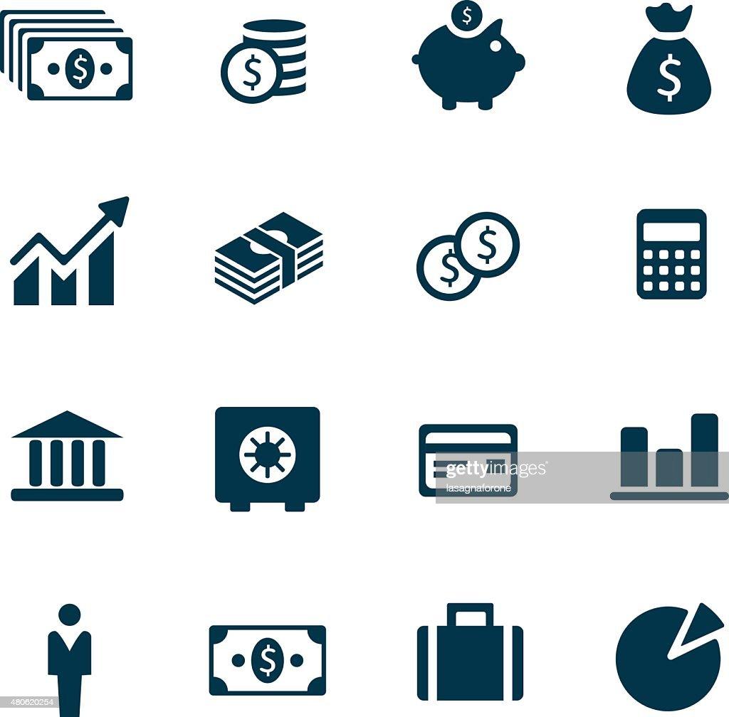 Money Icons : Stockillustraties