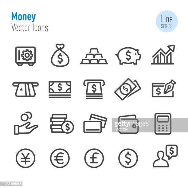 Money Icons - Vector Line Series