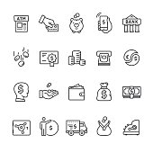 Money & Payment vector icons