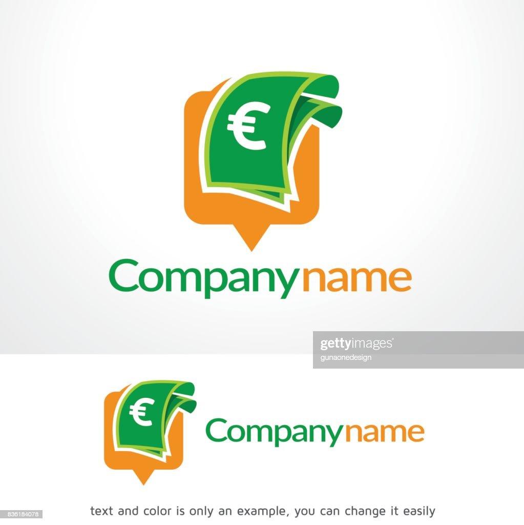 Money Point Symbol Template Design Vector Emblem Concept Creative Icon