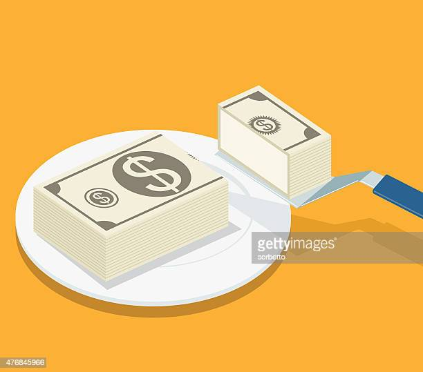 L'argent part