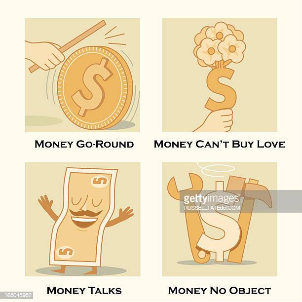 money themes - cash flow stock illustrations, clip art, cartoons, & icons