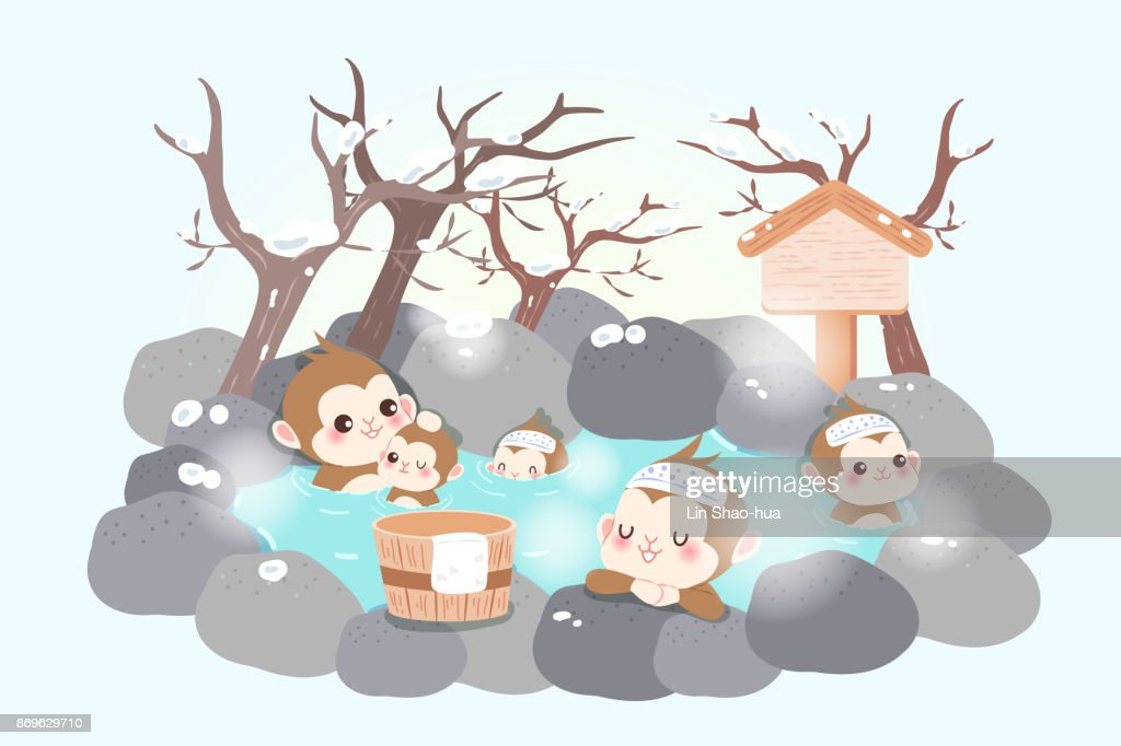 money with hot spring