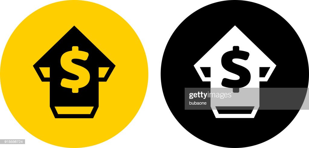 money with up arrow vector art getty images