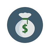 Money-sack-vector-icon