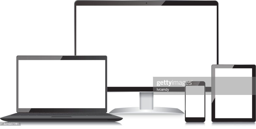 Monitor-Laptop-Mobile phone and Tablet