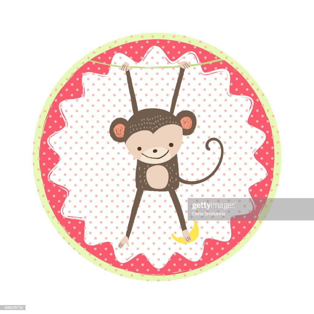 Monkey badge