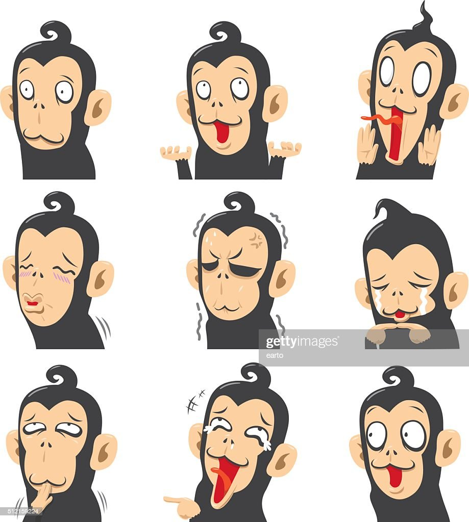 Monkey Emoticons