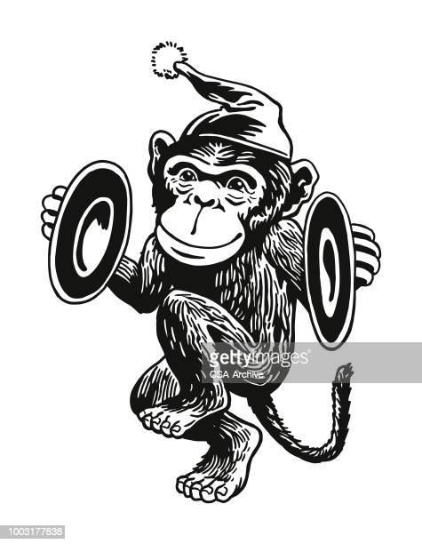 Monkey Playing Cymbals