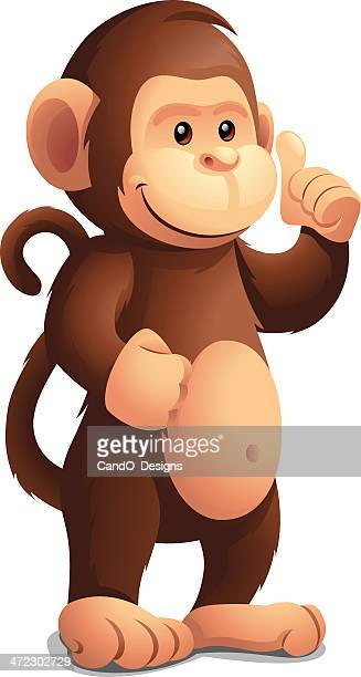 Monkey: Thumbs Up