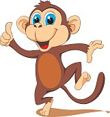 monkey - vector illustration