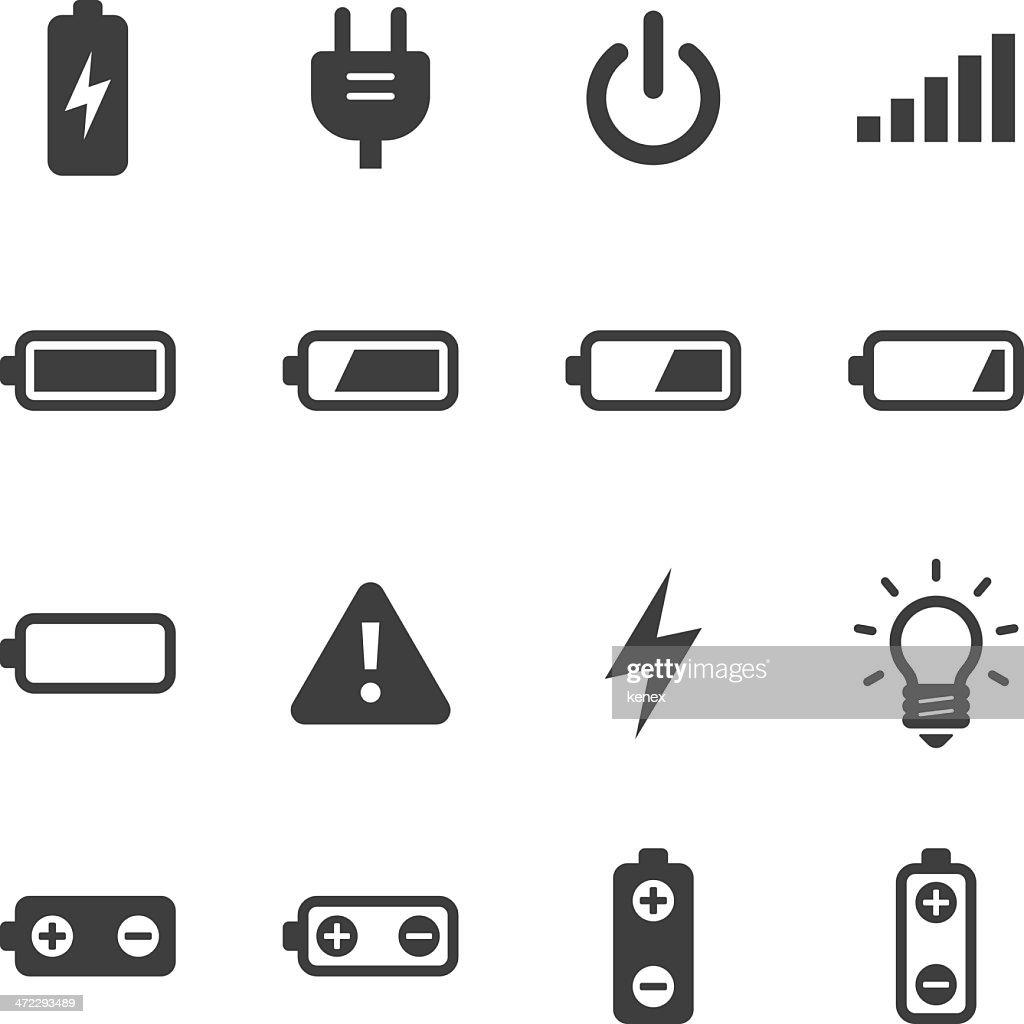Mono Icons Set | Battery & Power