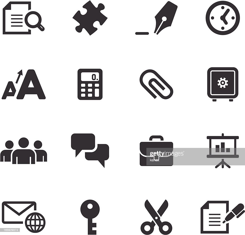Mono Icons Set | Business & Office