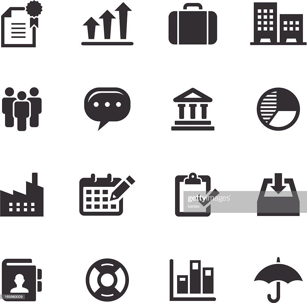 Mono Icons Set | Business & Office