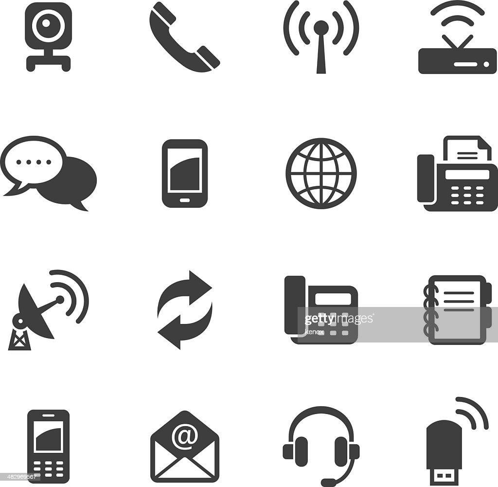 Mono Icons Set | Communication