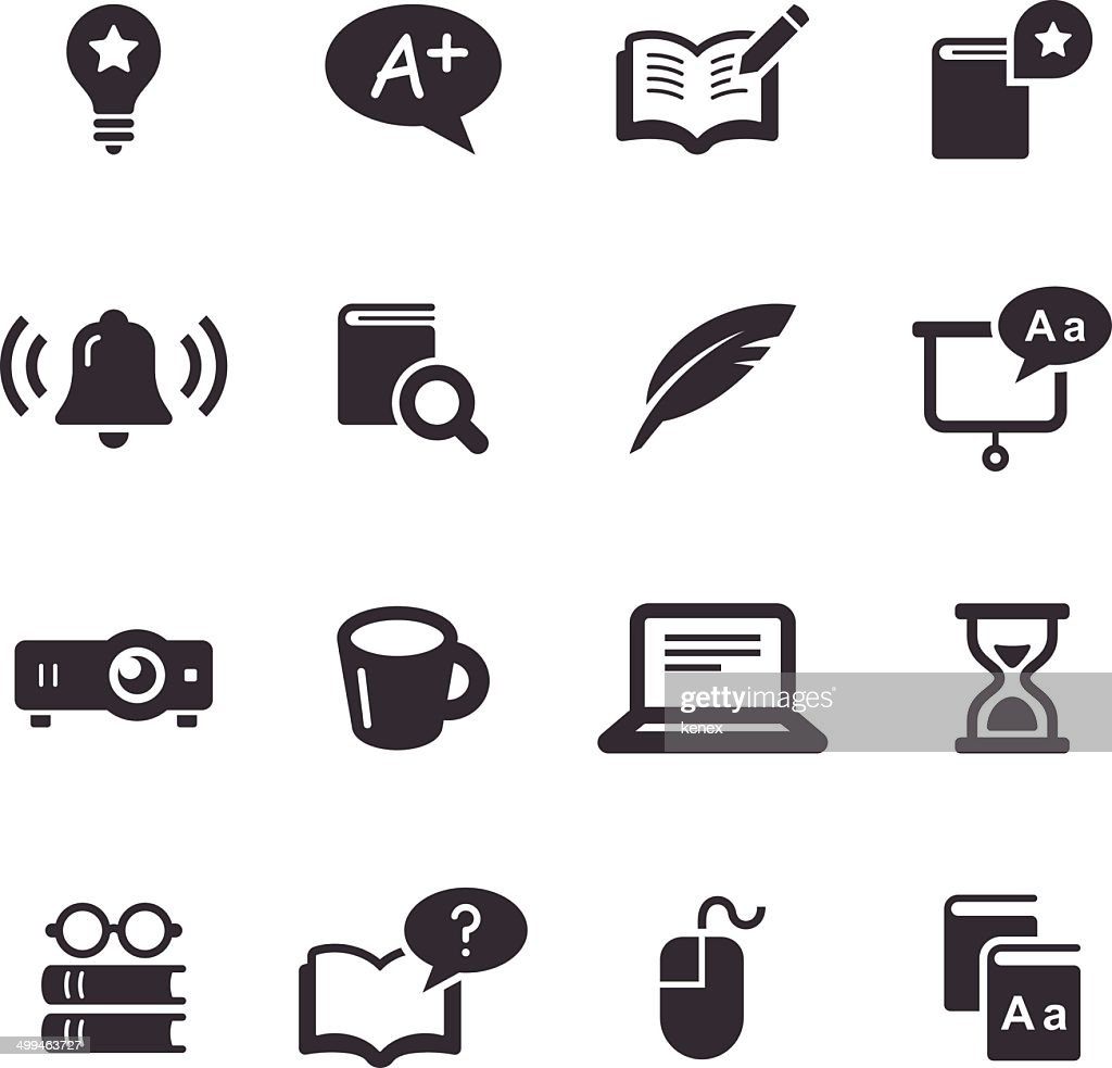 Mono Icons Set | Education