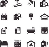 Mono Icons Set | Real Estate