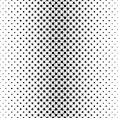 Monochrome star pattern - geometrical abstract vector background graphic from octagrams