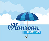 Monsoon end of season
