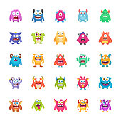 Monster Characters Pack