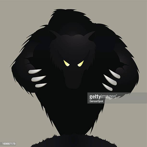 monster - agression stock illustrations, clip art, cartoons, & icons