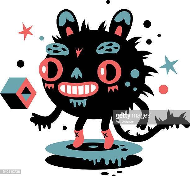 ilustraciones, imágenes clip art, dibujos animados e iconos de stock de monster - monstruo