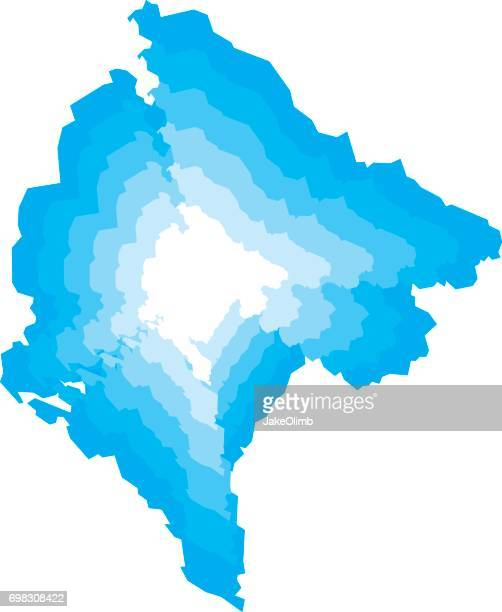 montenegro zoom - montenegro stock illustrations, clip art, cartoons, & icons